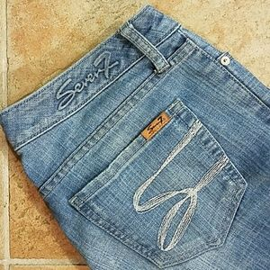 Seven7 Flare Jeans Size 28